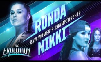 ronda rousey vs nikki bella, wwe evolution, sportswhy