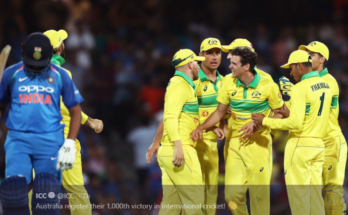 Australia registered 1000th victory in International Cricket, 1000 victory in cricket, india vs australia, australia record