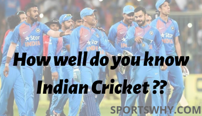 Cricket Quiz | How well do you know about Indian Cricket ?, Indian cricket quiz, indian cricket, cricket quiz, sportswhy, sports why, sports quiz, quiz, cricket game quiz