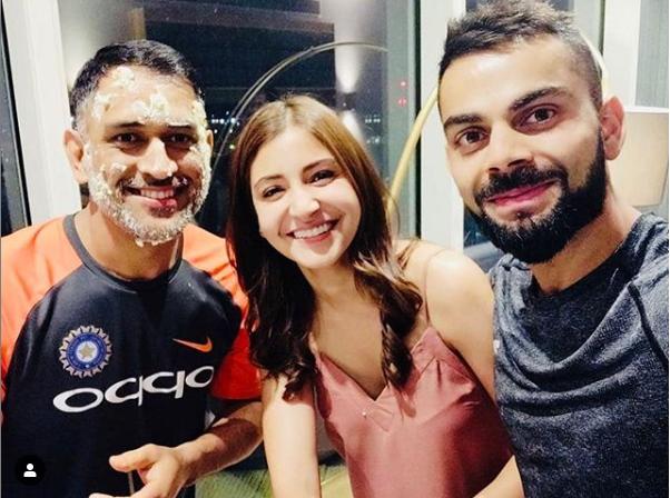 6 Photos from Virat Kohli's Instagram account, Virat on dhoni birthday, virat anushka dhoni, sportswhy