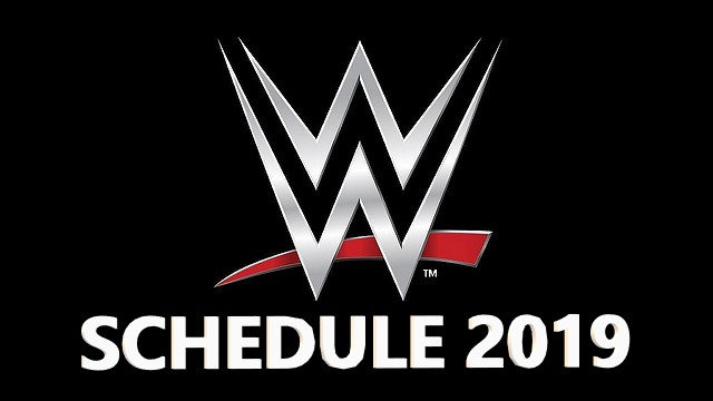List Of Wwe Papervieuw 2019: WWE Pay Per View Schedule 2019