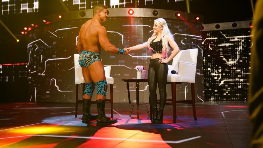 WWE is planning to pair Alexa Bliss and EC3 ?, Alexa Bliss and EC3, A moment of bliss, ec3 a moment of bliss, wwe moment of bliss