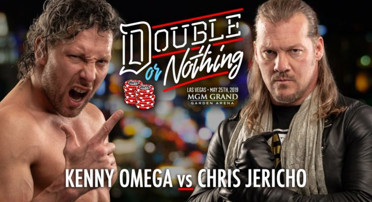 AEW Double or Nothing matches announced so far, kenny omega vs chris jericho, aew wrestling, chris jericho vs kenny omega, omega vs jericho, aew double or nothing