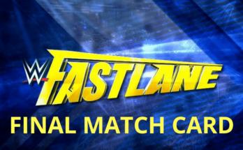 WWE Fastlane 2019 final match card, wwe fastlane 2019, fastlane 2019 matches, fastlane matches video, sportswhy, fastlane wwe 2019 matches
