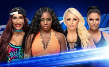 Fatal Four Way match set on SmackDown Live 26 March to decide Asuka's opponent, mandy rose vs sonya deville vs carmella vs naomi, smackdown 26 march matches, smackdown women championship, mandy rose on smackdown, sportswhy