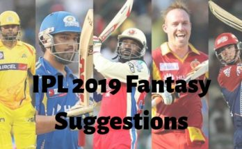 RCB vs CSK | Dream 11 Prediction | 23 March 2019