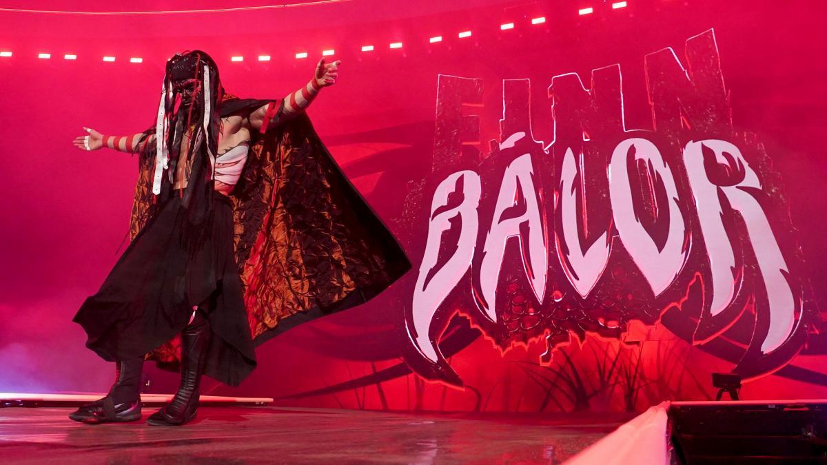 Amazing photos from WWE WrestleMania 35 entrances, WrestleMania 35 entrance, Finn Balor WrestleMania 35 entrance
