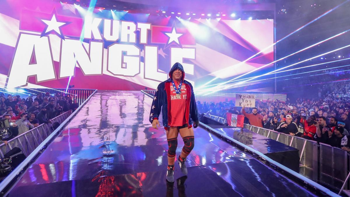 Amazing photos from WWE WrestleMania 35 entrances, WrestleMania 35 entrance, Kurt Angle WrestleMania 35 entrance