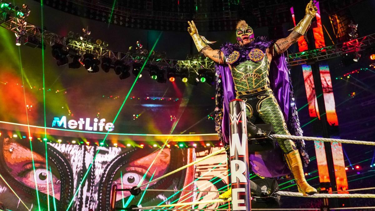 Amazing photos from WWE WrestleMania 35 entrances, WrestleMania 35 entrance, Rey Mysterio WrestleMania 35 entrance