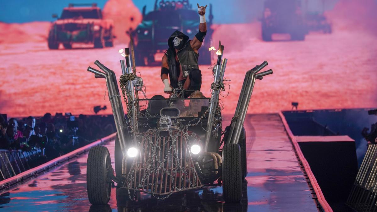 Amazing photos from WWE WrestleMania 35 entrances, WrestleMania 35 entrance, Triple H WrestleMania 35 entrance